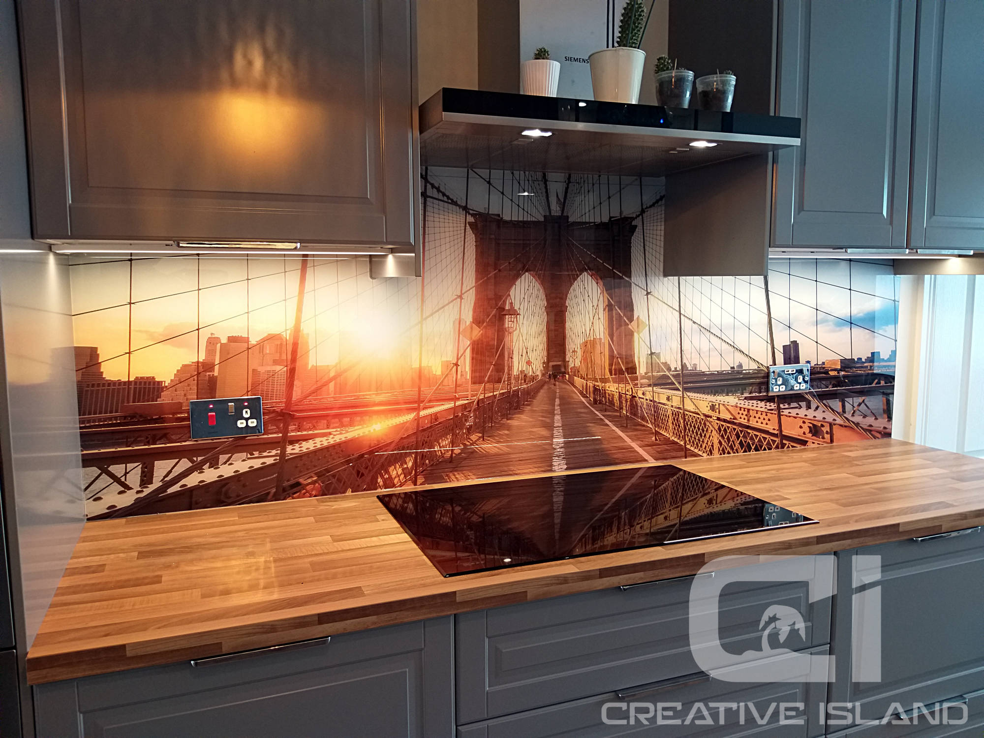 Creative Island splashbacks